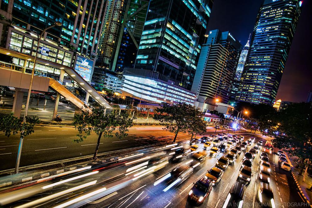 Rush Hour Traffic on Jalan Ampang