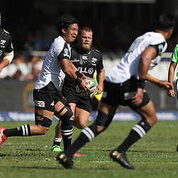 DURBAN, SOUTH AFRICA - MARCH 10: Yoshitaka Tokunaga of the HITO-Communications Sunwolves during the Super Rugby match between Cell C Sharks and Sunwolves at Jonsson Kings Park Stadium on March 10, 2018 in Durban, South Africa. (Photo by Steve Haag/Gallo Images)