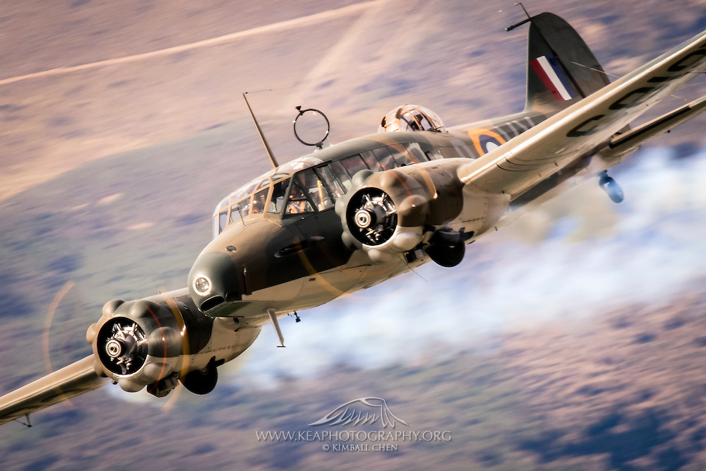 Britain's Avro Anson, Warbirds over Wanaka 2016, New Zealand