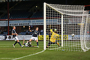Greg Stewart scores Dundee's goal - Dundee v Inverness Caledonian Thistle, SPFL Premiership at Dens Park <br /> <br />  - &copy; David Young - www.davidyoungphoto.co.uk - email: davidyoungphoto@gmail.com