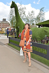 IRSTIE ALLSOPP at the 2016 RHS Chelsea Flower Show, Royal Hospital Chelsea, London on 23rd May 2016