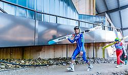31.12.2017, Olympiaschanze, Garmisch Partenkirchen, GER, FIS Weltcup Ski Sprung, Vierschanzentournee, Garmisch Partenkirchen, Qualifikation, im Bild Domen Prevc (SLO) // Domen Prevc of Slovenia during his Qualification Jump for the Four Hills Tournament of FIS Ski Jumping World Cup at the Olympiaschanze in Garmisch Partenkirchen, Germany on 2017/12/31. EXPA Pictures © 2018, PhotoCredit: EXPA/ JFK
