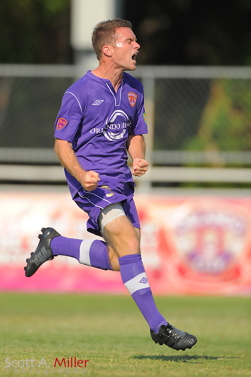 Orlando City U23s midfielder Nick Sowers (3) in action during Orlando's game against the Ocala Stampede at the Seminole Soccer Complex Saturday on May 26, 2012 in Sanford, Fla. ...©2012 Scott A. Miller..