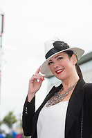 06/08/2017   Danielle Gardiner from Galway at the Galway Races on the last day of the Summer festival.  Andrew Downes, xposure
