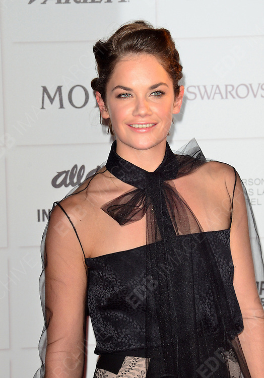 09.DECEMBER.2012. LONDON<br /> <br /> RUTH WILSON ATTENDS THE BRITISH INDEPENDENT FILM AWARDS AT OLD BILLINGSGATE MARKET. <br /> <br /> BYLINE: JOE ALVAREZ/EDBIMAGEARCHIVE.CO.UK<br /> <br /> *THIS IMAGE IS STRICTLY FOR UK NEWSPAPERS AND MAGAZINES ONLY*<br /> *FOR WORLD WIDE SALES AND WEB USE PLEASE CONTACT EDBIMAGEARCHIVE - 0208 954 5968*