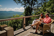 Lifestyle, architectural, and scenic photography of Brights Creek, a high end luxury community in the Mountains of Mill Springs, North Carolina.