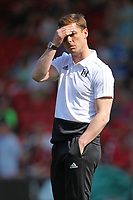 Football - 2018 / 2019 Premier League - AFC Bournemouth vs. Fulham<br /> <br /> Fulham Caretaker Manager Scott Parker during the pre match warm up before kick off at the Vitality Stadium (Dean Court) Bournemouth  <br /> <br /> COLORSPORT/SHAUN BOGGUST