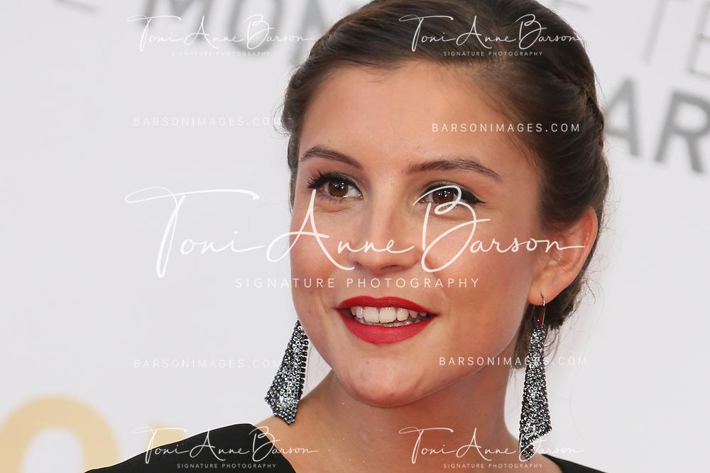 MONTE-CARLO, MONACO - JUNE 11:  Flore Bonaventura attends the Closing Ceremony and Golden Nymph Awards of the 54th Monte Carlo TV Festival on June 11, 2014 in Monte-Carlo, Monaco.  (Photo by Tony Barson/FilmMagic)