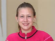 Juniorenspielerin Anna Gabric (GER),.Nachwuchs,Junior,Einzelbild,Halbkoerper,Portrait,.Querformat,DTB Lehrgang,