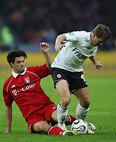 29.04.06 ,v.l. Michael Ballack Bayer, Christoph Spycher <br /> DFB-Pokal Finale Eintracht Frankfurt - FC Bayern Muenchen<br />  Bayern München<br /> Norway only