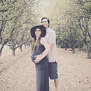 Reyes Pregnancy Photo Session 2014 | Biane Winery