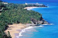 France - Département d'Outre mer de la Guadeloupe (DOM) - Basse Terre - Pointe du Petit Bas Vent