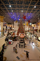Wafi mall all decked out for Christmas, Dubai, UAE, December 18, 2012. Photo by Silvia Baron / i-Images.