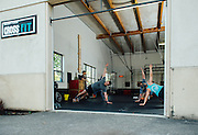 Working Out at Mt Tabor Cross Fit
