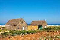 Italie. Sardaigne. Province d'Oristano. Peninsule de Sinis. Maison traditionnel. // Italy. Sardinia. Oristano province. Sinis peninsula. Traditional house.