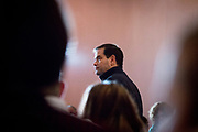 Presidential Hopeful Marco Rubio (R-Fl) campaigns in Derry, New Hampshire.