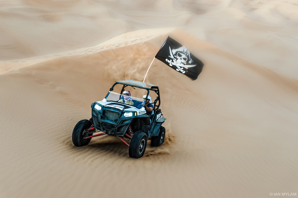 Riding the Dunes - Arabian Desert, U.A.E.