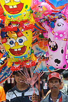 Balloons for sale at the Maulid Nabi festival, Cikoang, Sulawesi, Indonesia.