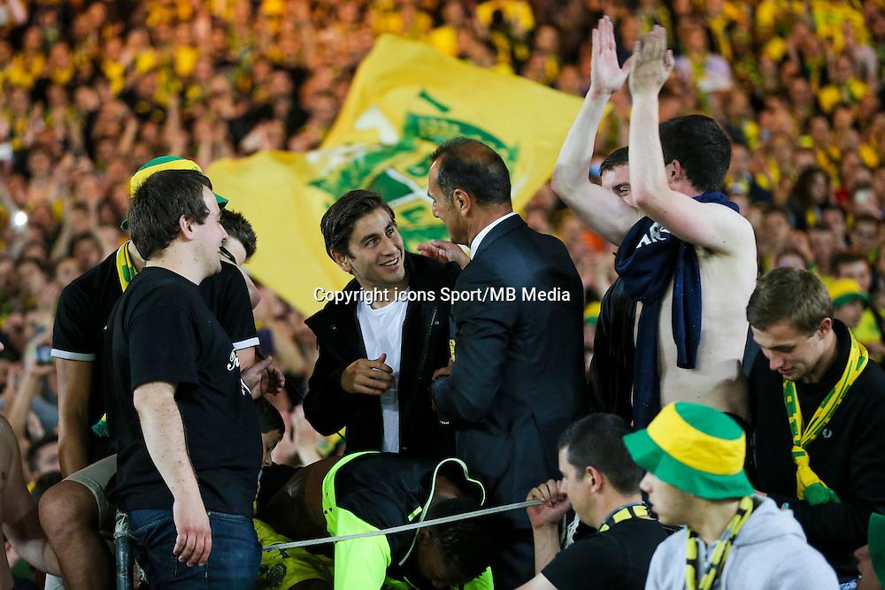 Michel DER ZAKARIAN / Supporters Nantes - 16.05.2015 - Nantes / Lorient - 37eme journee de Ligue 1<br />Photo : Vincent Michel / Icon Sport