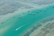 Fishing boats off Mannar. West Coast.
