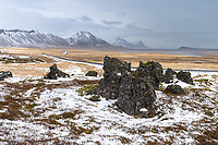 Snæfellsnes in the wintertime.