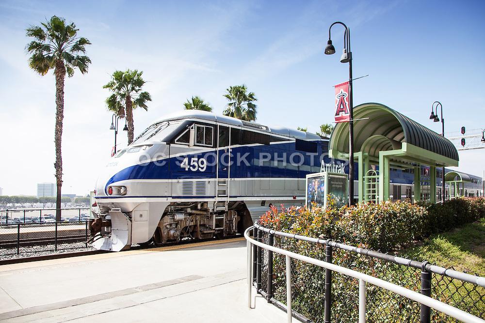 Surfliner Amtrak Station in Anaheim