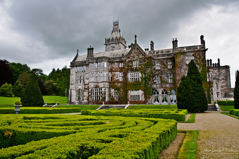 Adare Manor is a 19th century manor house that is now a hotel and golf club in the village of Adare.