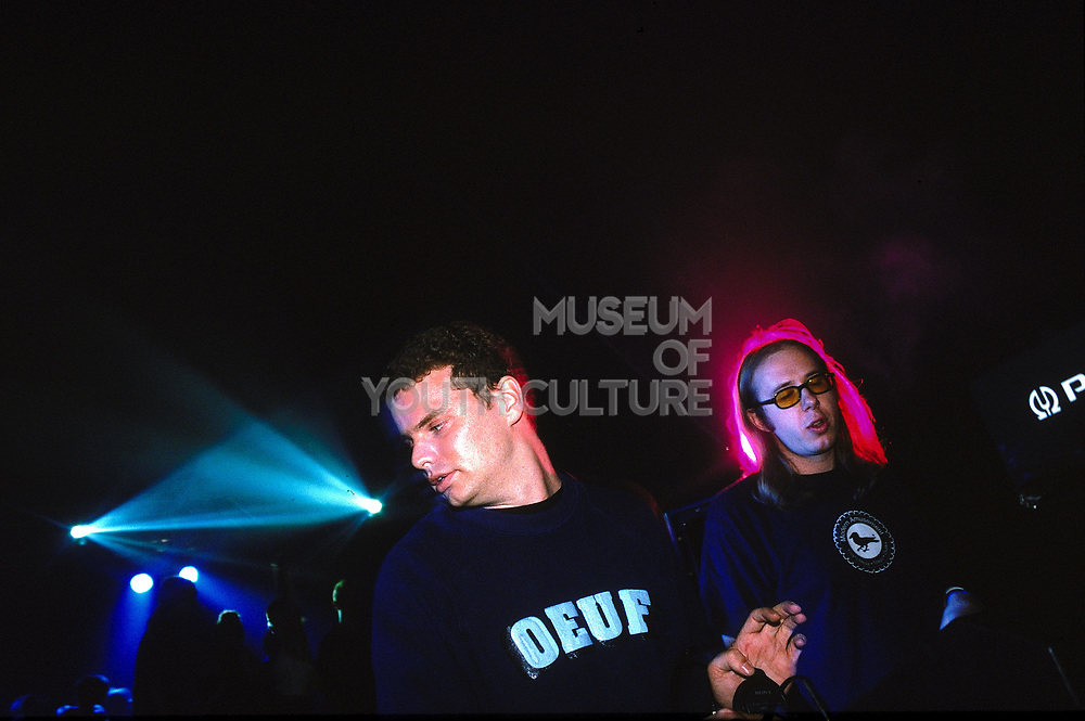 The Chemical Brothers at Glastonbury, UK, 2000's