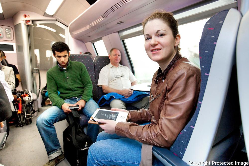 365432-treinreportage-met de trein naar brussel-Vicky Laurijssen