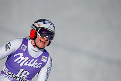 20.01.2018, Olympia delle Tofane, Cortina d Ampezzo, ITA, FIS Weltcup Ski Alpin, Abfahrt, Damen, im Bild Ramona Siebenhofer (AUT) // Ramona Siebenhofer of Austria reacts after ladie' s downhill of the Cortina FIS Ski Alpine World Cup at the Olympia delle Tofane course in Cortina d Ampezzo, Italy on 2018/01/20. EXPA Pictures © 2018, PhotoCredit: EXPA/ Dominik Angerer