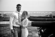 Seth and Amber Engagement   Atlantic Beach NC Photographers