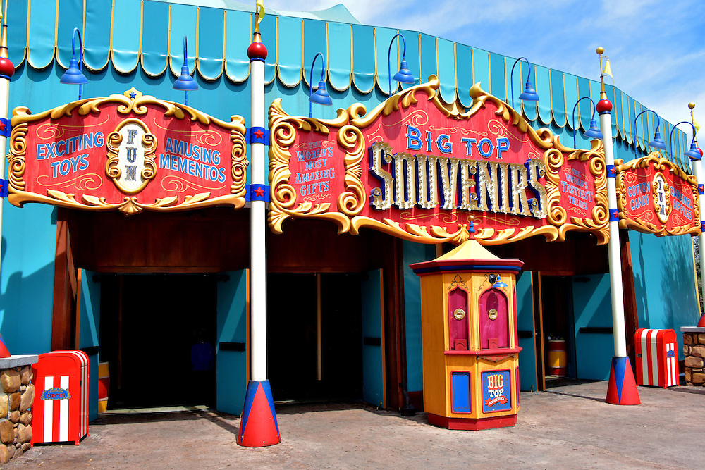 Big Top Souvenirs in Fantasyland at Magic Kingdom in Orlando, Florida<br />