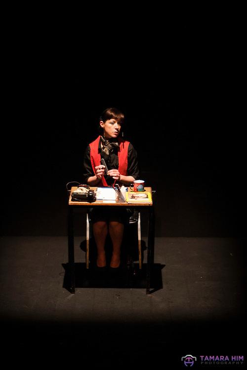 Performance at the New Theatre. Dublin. ©Tamara Him.
