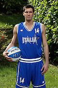SONDRIO, ESTATE 2002<br /> POSATI NAZIONALE ITALIANA MASCHILE<br /> NELLA FOTO: CRISTIANO MASPER<br /> FOTO CIAMILLO