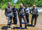 This year five girls joined the 2016 Hillbilly Dual Sport Ride in Marble Falls, AR.