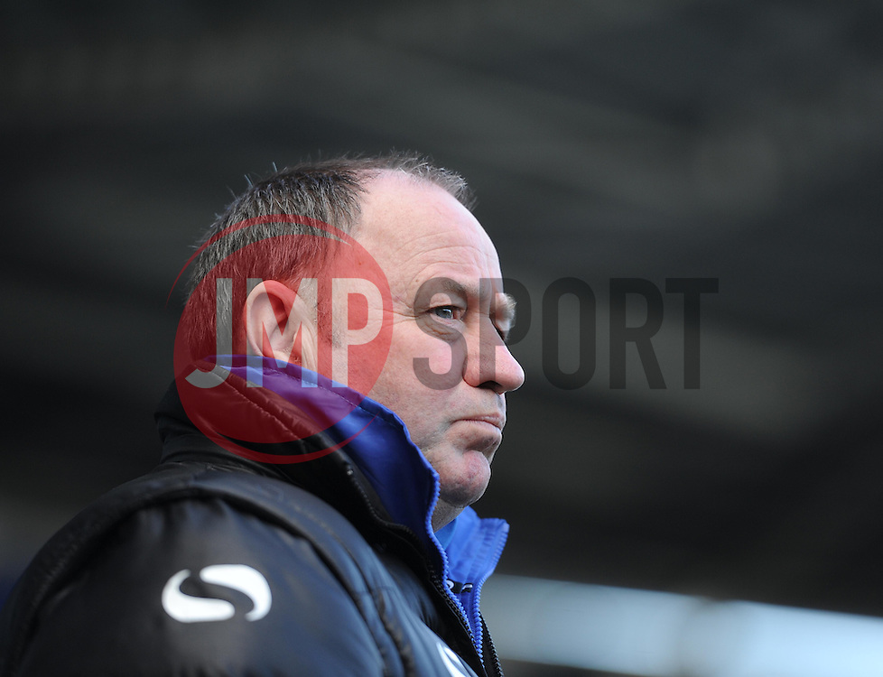 Yeovil Town Manager, Gary Johnson - Photo mandatory by-line: Alex James/JMP - Tel: Mobile: 07966 386802 01/03/2014 - SPORT - FOOTBALL - Reading - Madejski Stadium - Reading v Yeovil Town - Sky Bet Championship