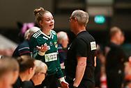 Althea Reinhardt fra Odense Håndbold under semifinalen i HTH Dameligaen mellem Herning-Ikast Håndbold i IBF Arena, Ikast, Danmark, den 01.05.2019. Photo Credit: Allan Jensen/EVENTMEDIA.
