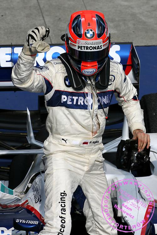 23.03.2008 Kuala Lumpur, Malaysia, .Robert Kubica (POL), BMW Sauber F1 Team - Formula 1 World Championship, Rd 2, Malaysian Grand Prix, Sunday Podium .FOT. XPB.CC / WROFOTO.*** POLAND ONLY !!! ***.*** NO INTERNET / MOBILE USAGE !!! ***