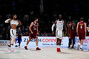 BrownJohn Esultanza <br /> Umana Reyer Venezia - Happy Casa Brindisi<br /> LBA Final Eight 2020 Zurich Connect - Finale<br /> Basket Serie A LBA 2019/2020<br /> Pesaro, Italia - 16 February 2020<br /> Foto Mattia Ozbot / CiamilloCastoria