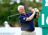 Golf - 2019 Senior Open Championship at Royal Lytham & St Annes - First Round <br /> <br /> Colin Montgomerie (SCO) drives off the 16th tee.<br /> <br /> COLORSPORT/ALAN MARTIN