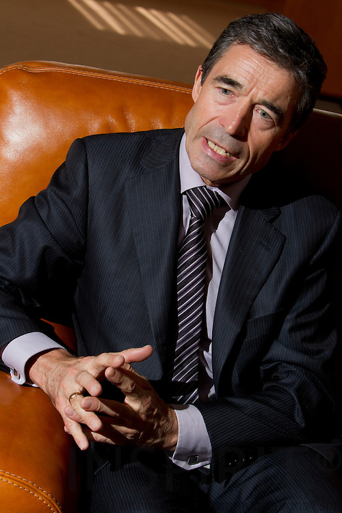 SPECIAL INDBLIK - Jesper Kongstad skriver -- BRUSSELS - BELGIUM - 07 JULY 2010 -- Interview med Anders Fogh Rasmussen, Nato's Generalsekretær. PHOTO: ERIK LUNTANG / INSPIRIT Photo