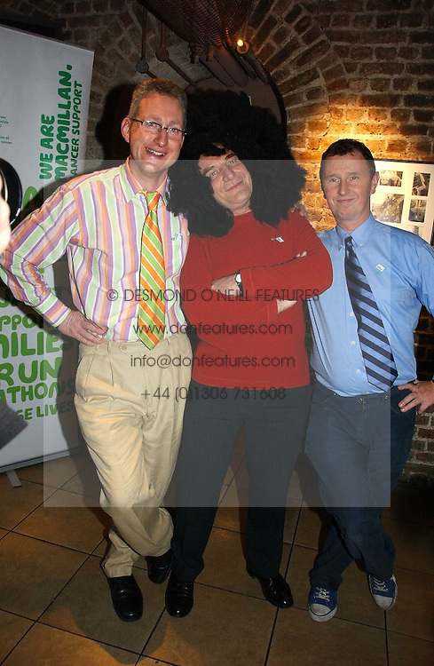 Left to right, LEMBIT OPIK MP, STEPHEN POUND MP and NIGEL EVANS MP at the annual House of Lords and House of Commons Parliamentary Palace of Varieties in aid of Macmillan Cancer Support held at St.John's Smith Square, London W1 on 1st February 2007.<br /><br />NON EXCLUSIVE - WORLD RIGHTS
