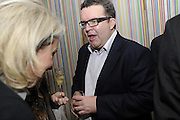 TOM WATSON, The 2011 Groucho Club Maverick Award. The Groucho Club. Soho, London. 14 November 2011. <br /> <br />  , -DO NOT ARCHIVE-© Copyright Photograph by Dafydd Jones. 248 Clapham Rd. London SW9 0PZ. Tel 0207 820 0771. www.dafjones.com.