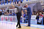 De Raffaele Walter, Paternico Carmelo<br /> Happy Casa Brindisi - Umana Reyer Venezia<br /> Legabasket SerieA  2019 - 2020<br /> Brindisi 03/11/2019<br /> Foto GiulioCiamillo/ Michele Longo