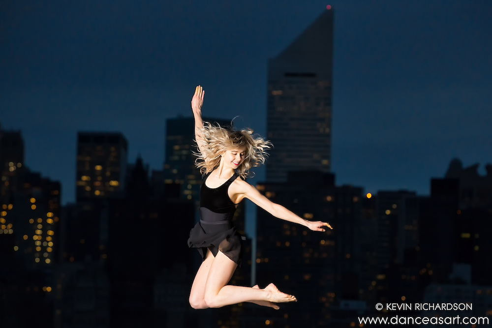 New York City Rooftop Ballet Lane Botha- Dance As Art- The New York Photography Project