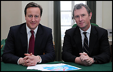 Commons Deputy Speaker Nigel Evans with David Cameron 190613