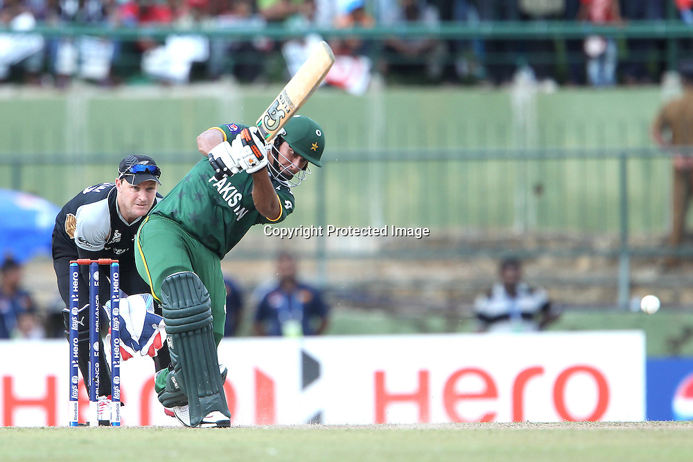 Nasir Jamshed during the ICC World Twenty20 Pool match between Pakistan and New Zealand held at the  Pallekele Stadium in Kandy, Sri Lanka on the 23rd September 2012<br /> <br /> Photo by Ron Gaunt/SPORTZPICS/PHOTOSPORT