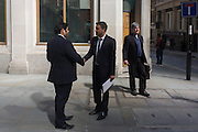 Londoners experience the unexpected intensity of localised solar rays, reflected off the concave plate glass windows of one of the capital's newest skyscrapers known as the Walkie Talkie. The hotspot has surprised developers and passers-by below and which has already melted a parked car and left soft street fittings smouldering in Eastcheap Street, City of London, the capital's financial district. Thermometers placed in the street reached 144F (62 celsius) and city workers poured out of their offices at lunchtime to witness the strange phenomena of intense light and heat.