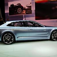 Porsche Panamera Sport Turismo Concept at the Paris Motor Show 2012