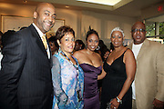 26 June 2010-Miami Beach, Fla- Mark Pitts, Dolly Turner, Jasmine Lewis, Audrey Tatum and James Gilmer at The 2010 ABFF Honors Awards Ceremony held at The New World Symphony Lincoln Theater on June 26, 2010 in Miami Beach, Florida. Terrence Jennings/Sipa